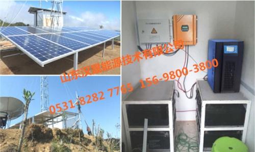 汉晟能源-HGNK48-5KD光伏离网逆控一体机交付用户安装完成