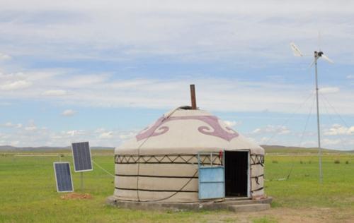 HACEN/汉晟能源离网发电系统助力内蒙古牧区牧民朋友用电